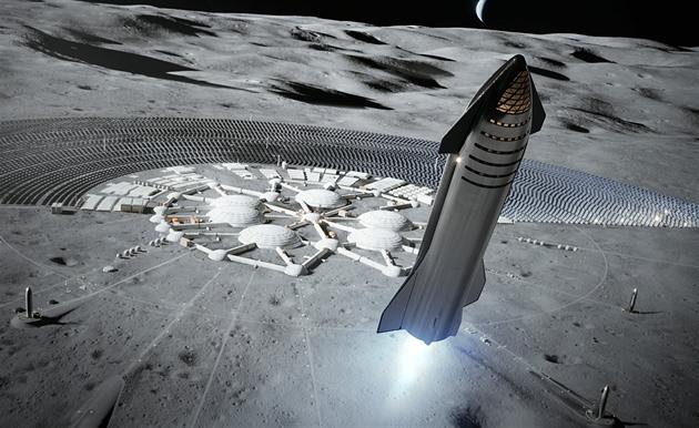 Boj o prestiž i peníze dočasně zastavil vývoj lunárního modulu SpaceX