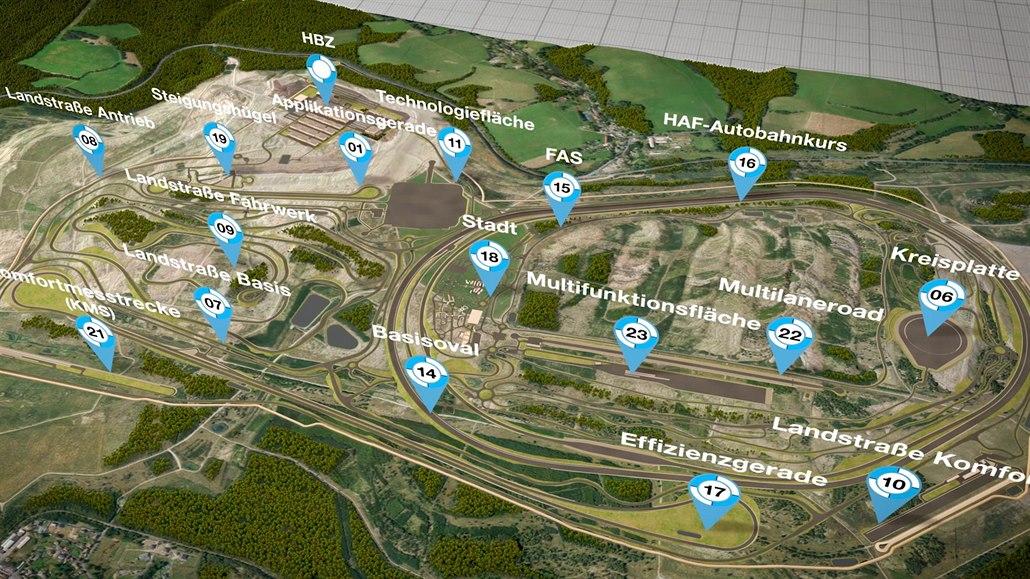 Víme, jak bude vypadat tajný testovací okruh BMW u Sokolova