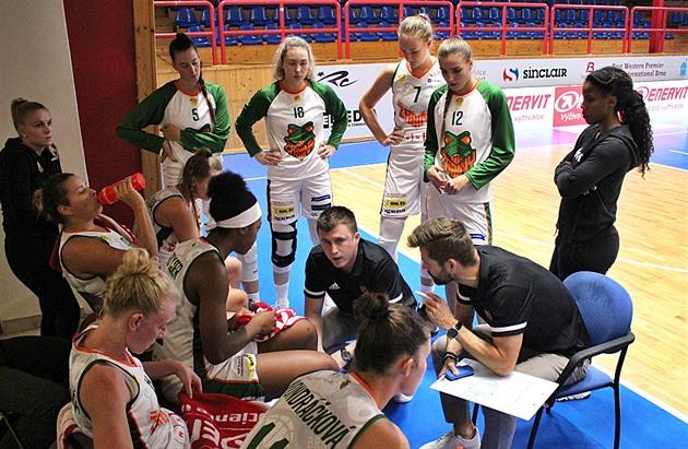 Žabiny vstoupily do turnaje EWBL výhrou, čeká je klub Ovečkinových