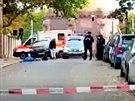 Střelba u synagogy v německém městě Halle. (9. října 2019)