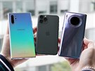 Samsung Galaxy Note 10+, iPhone 11 Pro, Huawei Mate 30 Pro