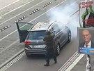 Svědci natočili přestřelku v německém Halle (9.10.2019)