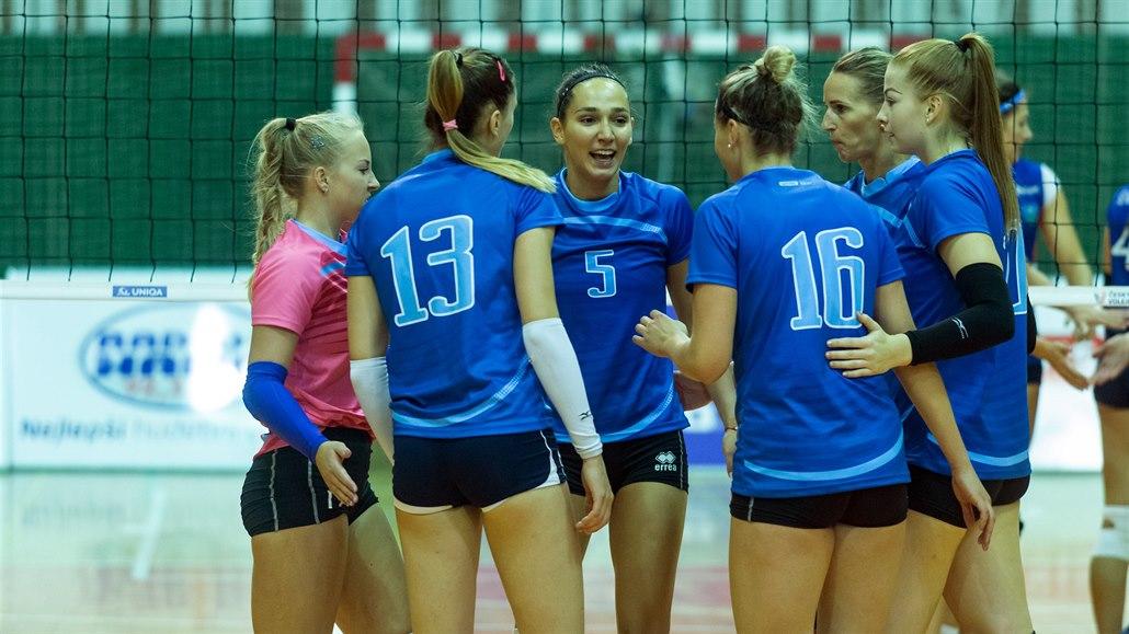 Volejbalistky Prostějova postoupily do pohárového Final Four