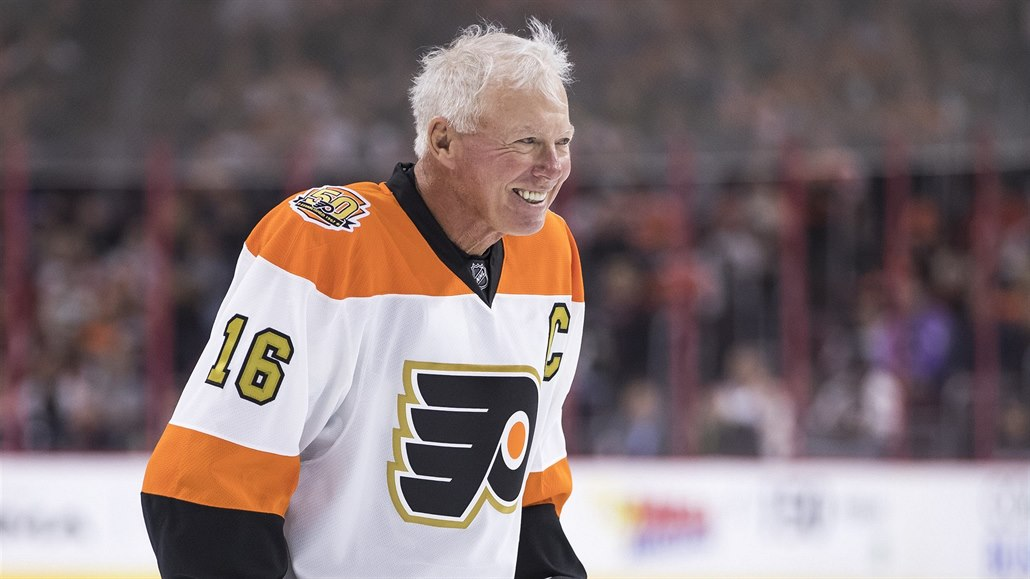 Bobby Clarke, legenda Philadelphia Flyers.