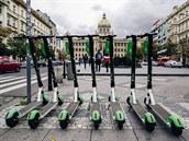 Pražský magistrát chce zavést nová pravidla, podle kterých by společnost Lime...