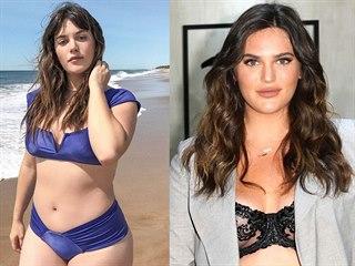 Plus size modelka Ali Tate Cutlerová (2019)
