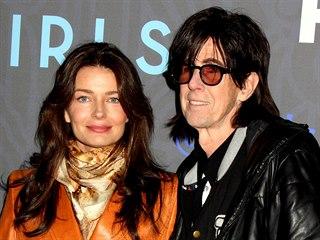 Pavlína Pořízková a Ric Ocasek (Los Angeles, 6. února 2015)
