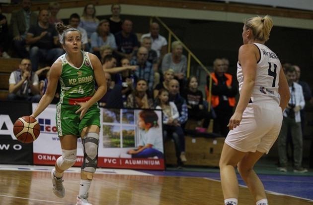 Basketbalistky KP Brno vstoupily do Eurocupu vysokou porážkou