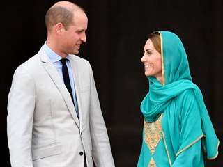 Návštěva britského královského páru v Pákistánu na podzim 2019.