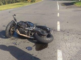 Řidička nedala přednost, na Benešovsku srazila motorkáře. (16. října 2019)
