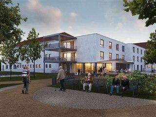 Finální podobu tohoto domu pro seniory ve Žďáře nad Sázavou momentálně ladí...