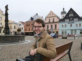 Jan Papajanovský se po loňských komunálních volbách stal nejmladším starostou...