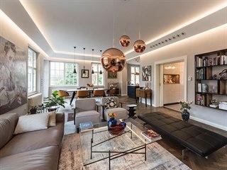 Srdcem domu se stal otevřený prostor v přízemí, který tvoří obývací část,...