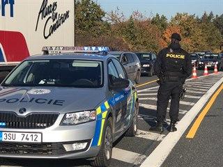 Po nehodě na D1 kolabují objízdné trasy. (14. října 2019)