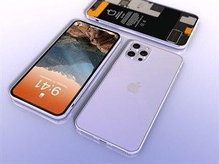 designový koncept iPhone 12 Pro Max