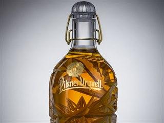 Designové láhve Pilsner Urquell navrhl Lukáš Novák.