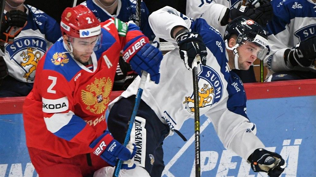 Hokejisté Finska zdolali Rusko, duel Karjala Cupu rozhodl Pesonen