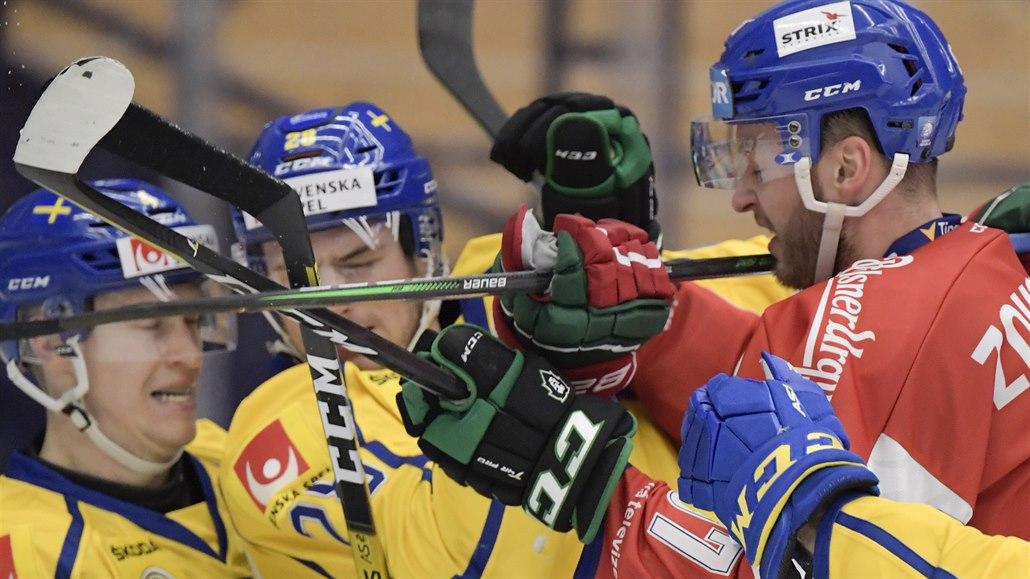 Hokejisté se přesunuli ze švédského venkova do Helsinek