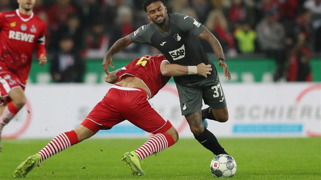 Hoffenheim vyhrál v Kolíně po penaltě v osmé minutě nastavení