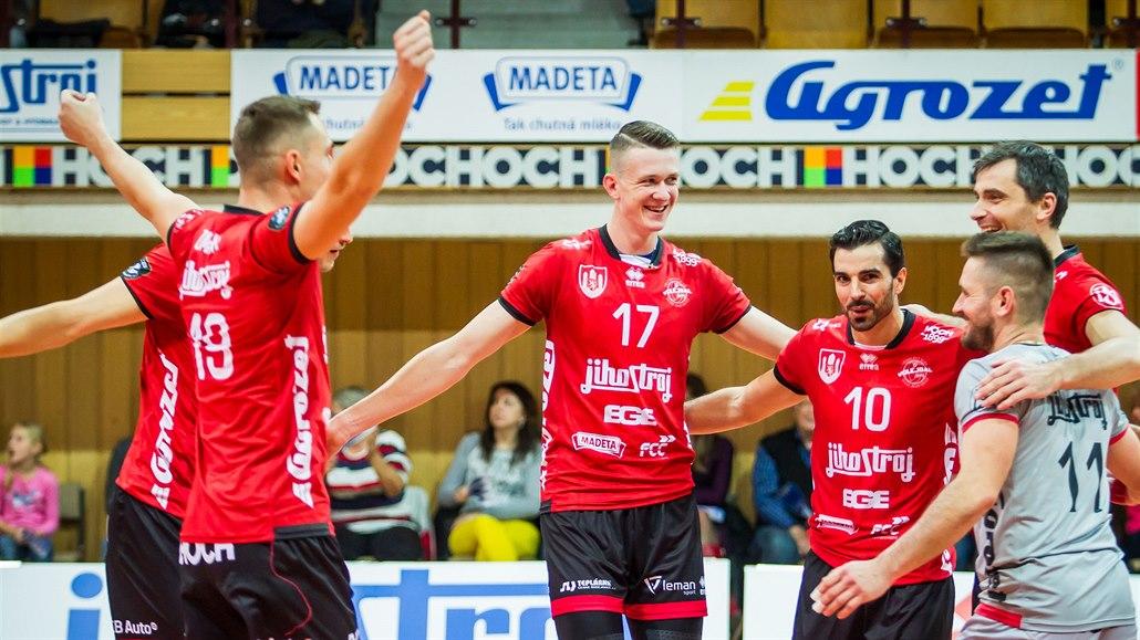 Budějovičtí volejbalisté vyzvou Brno. Utkají se týmy riskující podání