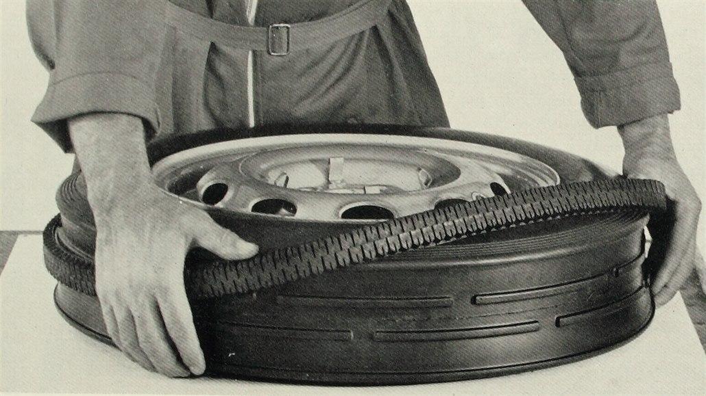 Autofotka týdne: Převléknout, ne přezouvat. Italská revoluční pneu se nechytla