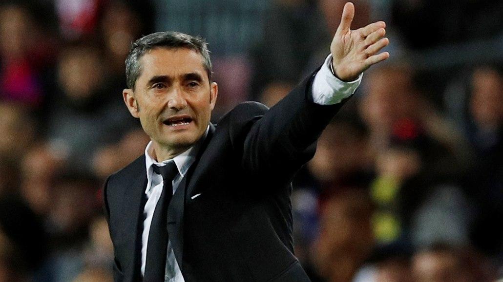 Trenér Valverde v Barceloně skončil, nahradil ho Setién z Betisu