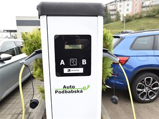 Nabíječka elektromobilů