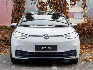 Volkswagen ID.3 je v Praze.