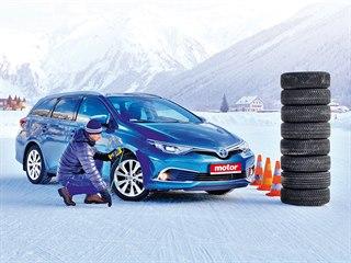 Test celoročních pneumatik