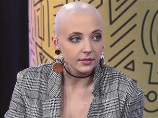 Anna Julie Slováčková v Mixxxer show na ÓČKU (4. listopadu 2019)