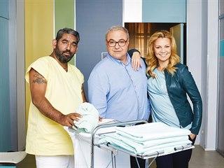 Diváci mohou herečku a moderátorku Martinu Randovou vidět v seriálu Ordinace v...