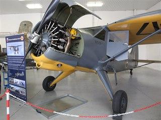 Návštěvníci muzea, které je umístěné na letišti v Líních, mohou obdivovat i...