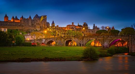 Carcassonne si právem dělá nárok na nejkrásnější hrad ve Francii.