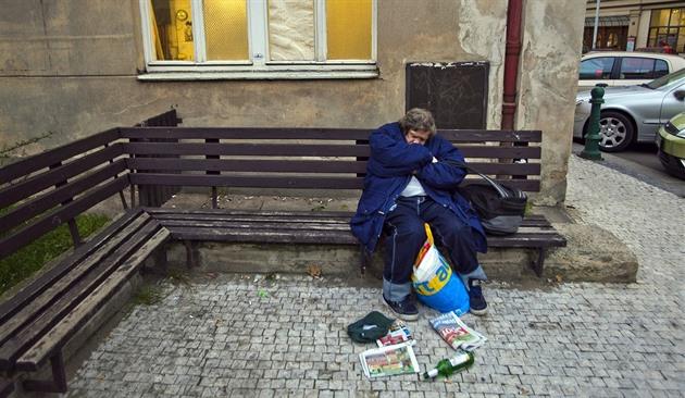Zima je pro bezdomovce kritická.