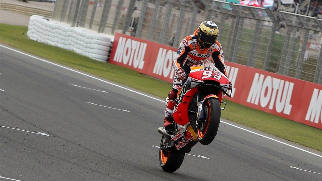 Mistr světa MotoGP Márquez je po druhé operaci, v Brně startovat nebude