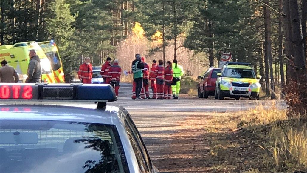 V nemocnici zemřel muž popálený při výbuchu chemikálii na Českolipsku