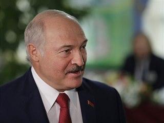 Běloruský prezident Alexandr Lukašenko. (17. listopadu 2019)