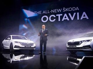 Premiéra nové Škody Octavia v Praze