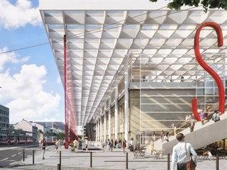 Smíchovské nádraží a jeho okolí čeká velká rekonstrukce