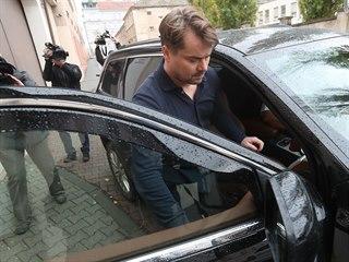 Marek Dalík po 2,5 roce opustil vězení ve Znojmě, v němž byl za podvod při...