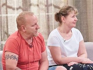 Pavel a Růžena na začátku pořadu O 10 let mladší