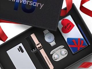 Balíček k výročí 10 let řady Galaxy