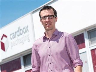 Libor Miloševský vede zádveřickou firmu Cardbox Packaging, která vyrábí...
