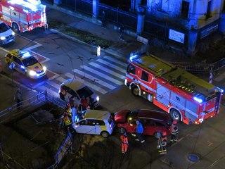 Pět dopravních nehod se stalo v Brně v neděli 17. listopadu na křižovatce ulic...