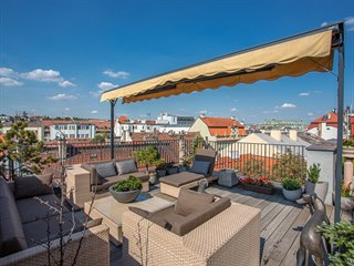 Truhlářská, Praha 1 - Nové Město. Mezonetový byt 7+kk/T je velký 340 m².