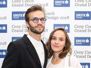 Matyáš Ramba a Tereza Voříšková (20. března 2019)