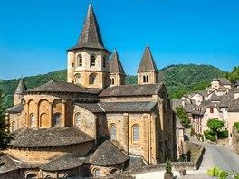 Kostel Saint Foy v obci Conques