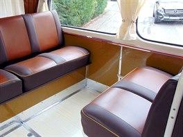 Autobus Tatra 500 HB - 138, zadní sedadla pro cestující