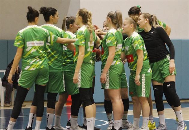 Basketbalistky KP Brno vyhrály nad Slovankou a jsou druhé
