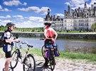 K zámku Chambord se dá dojet i na kole.